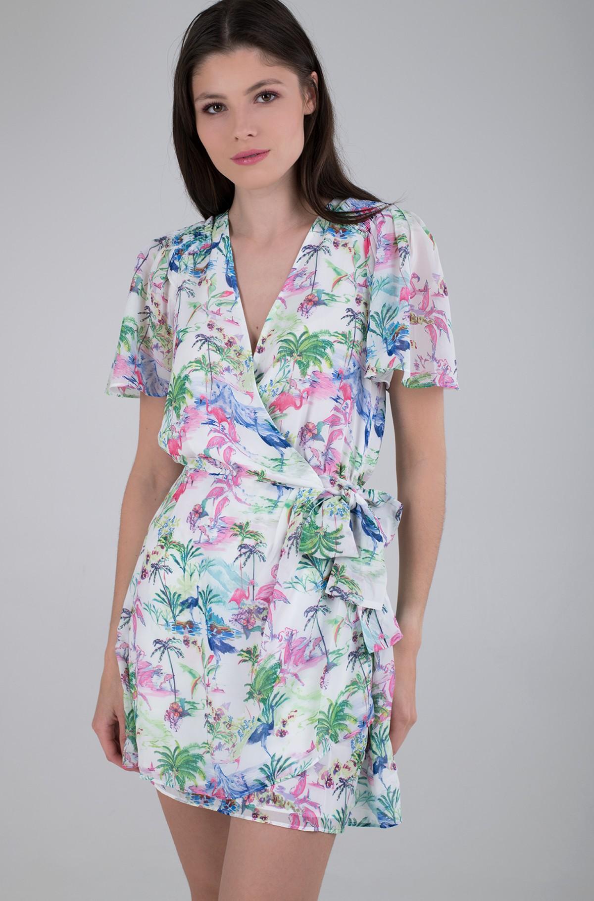 Wrap dress W1GK0T WBUD2-full-1