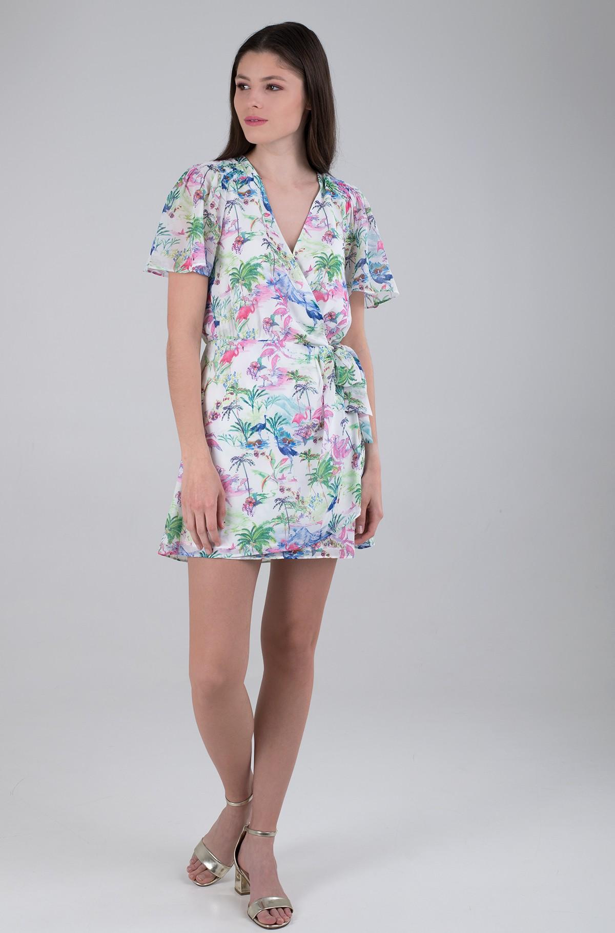 Wrap dress W1GK0T WBUD2-full-2