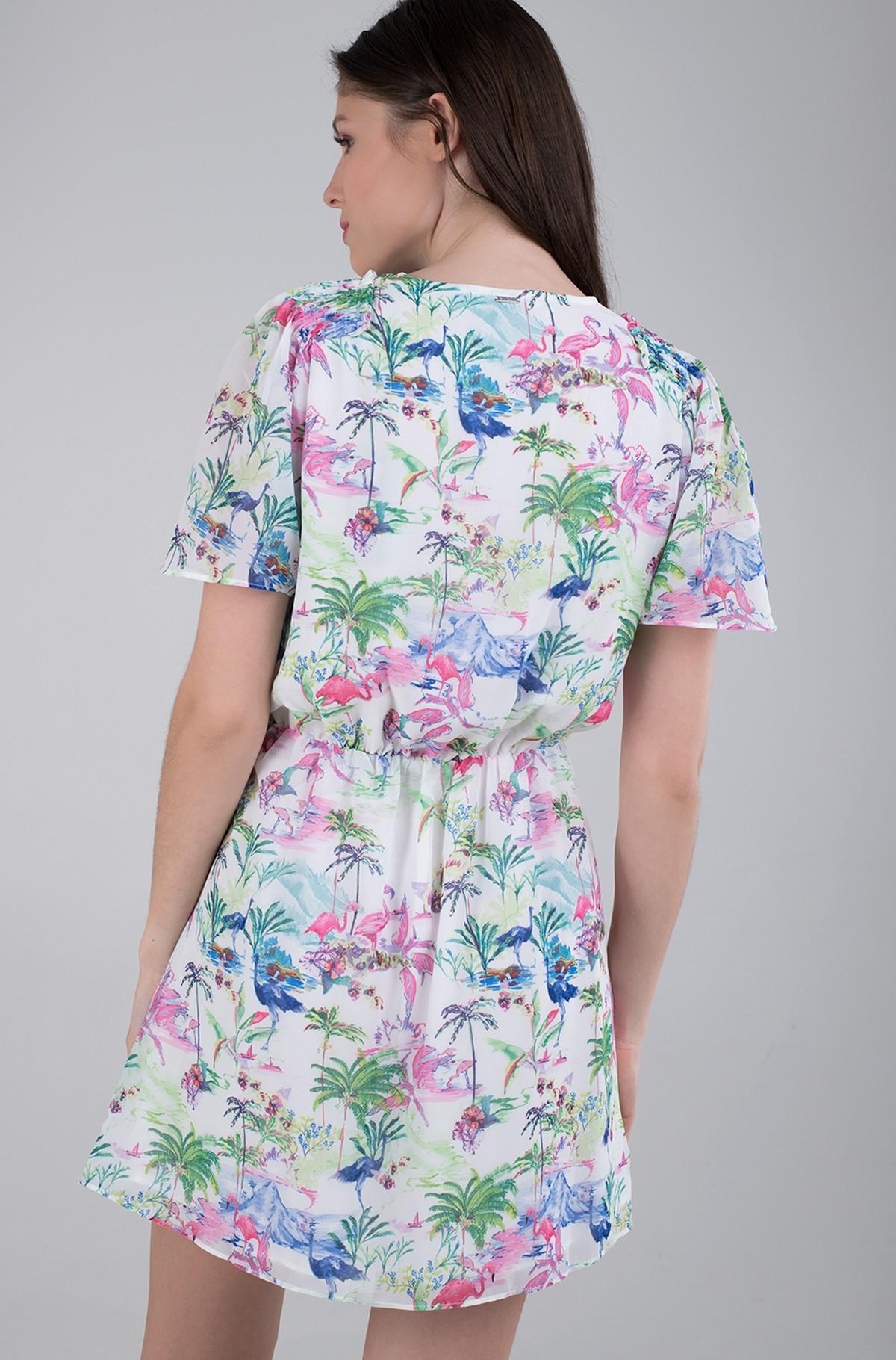 Wrap dress W1GK0T WBUD2-full-3