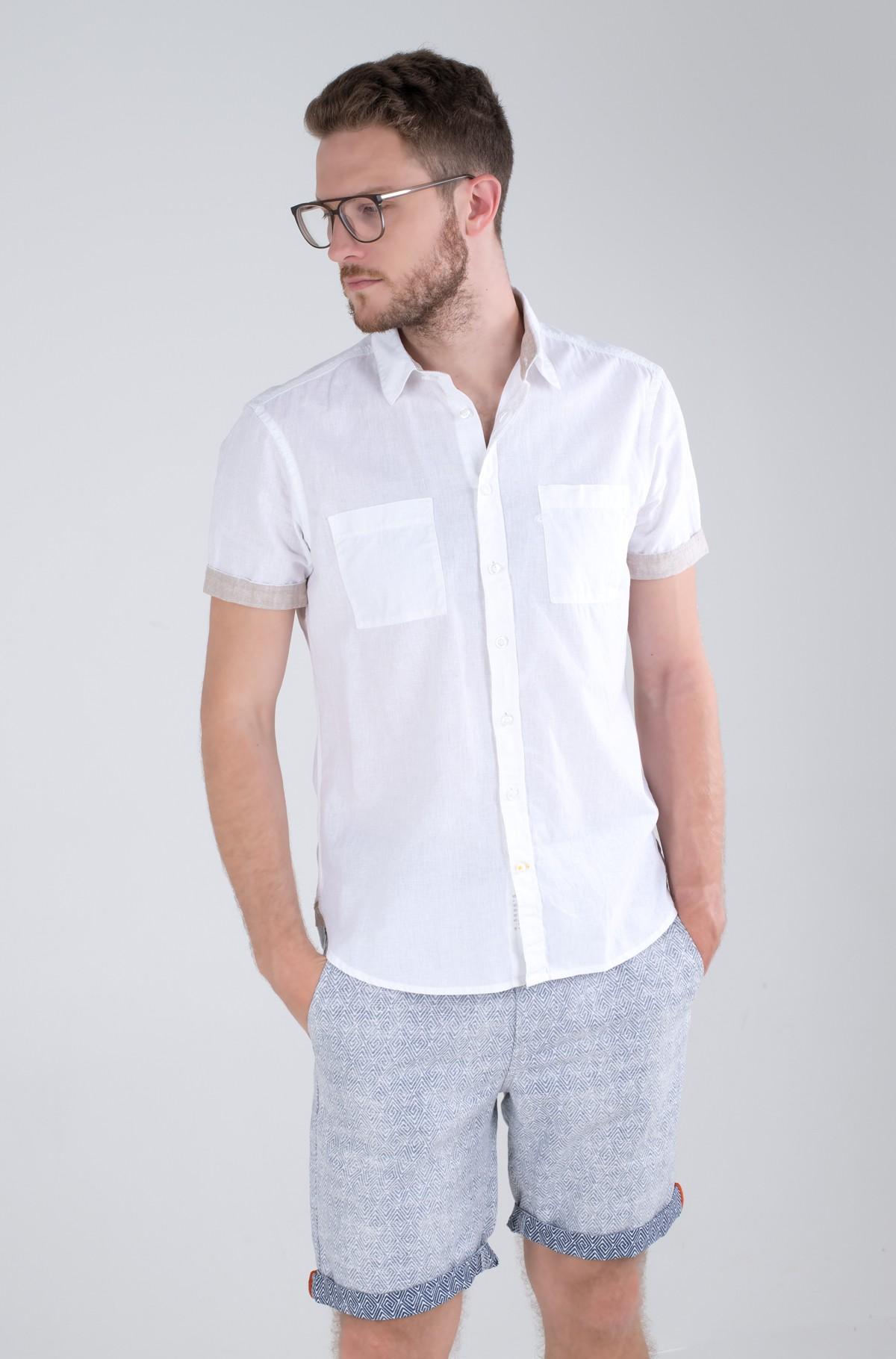 Marškiniai su trumpomis rankovėmis 409238/5S49-full-1