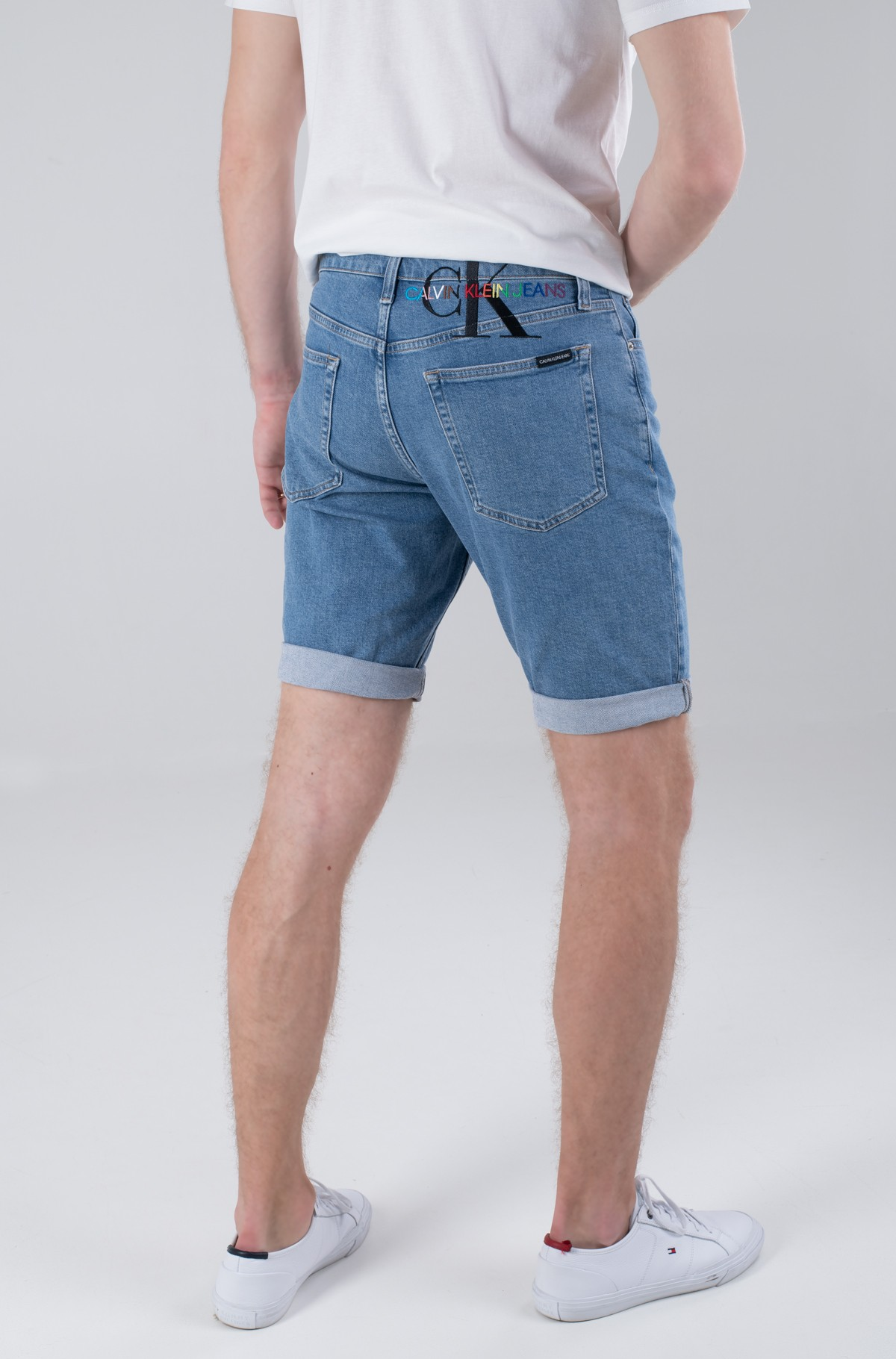 Shorts PRIDE GRAPHIC DENIM SHORT-full-2