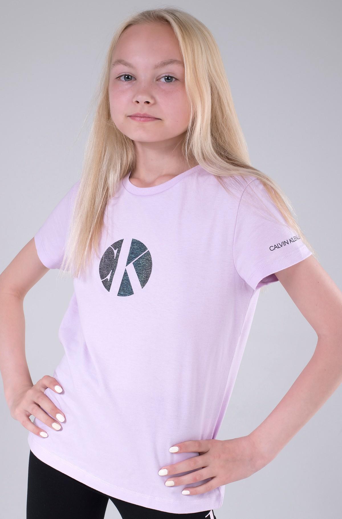 Bērnu T-krekls CIRCLE MONOGRAM T-SHIRT-full-2