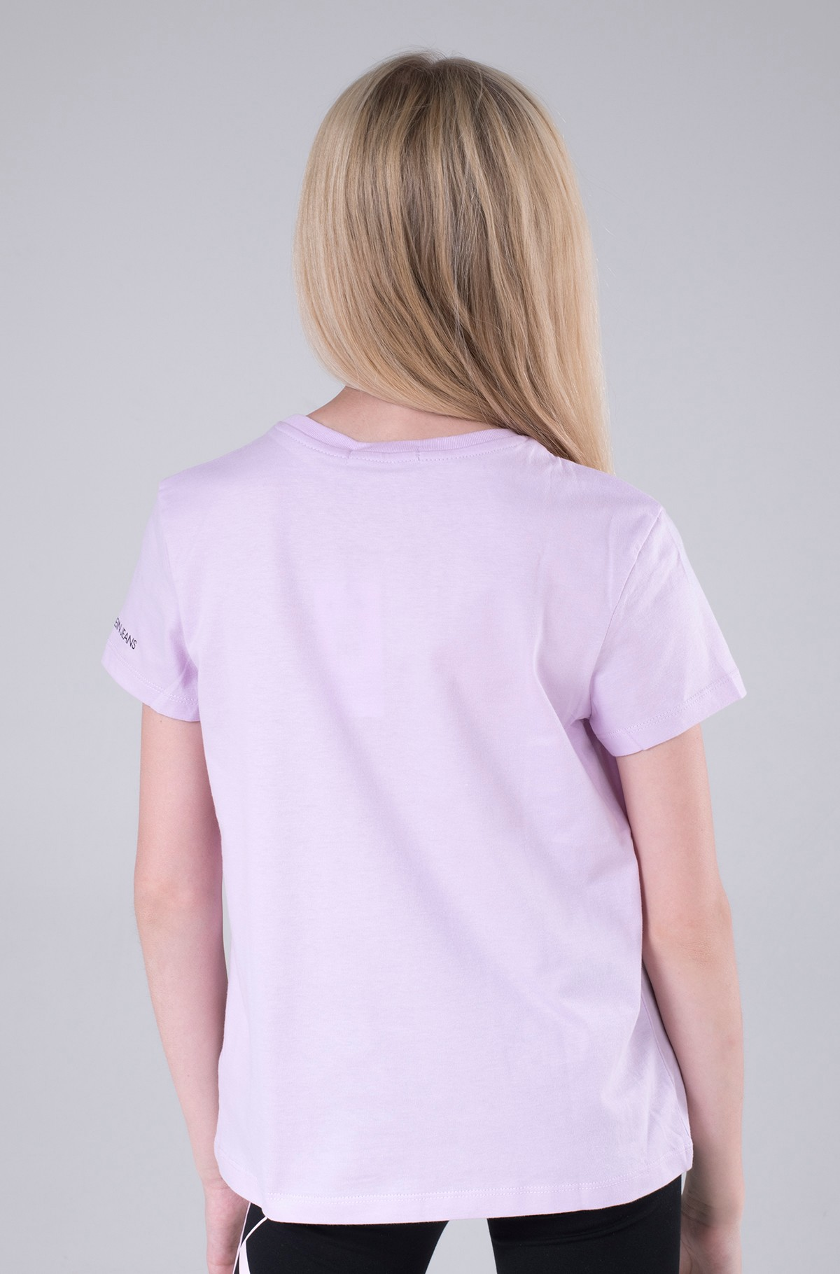 Bērnu T-krekls CIRCLE MONOGRAM T-SHIRT-full-3