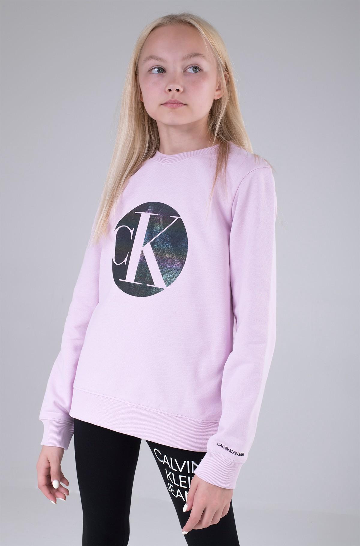 Bērnu sporta krekls CIRCLE MONOGRAM SWEATSHIRT-full-1