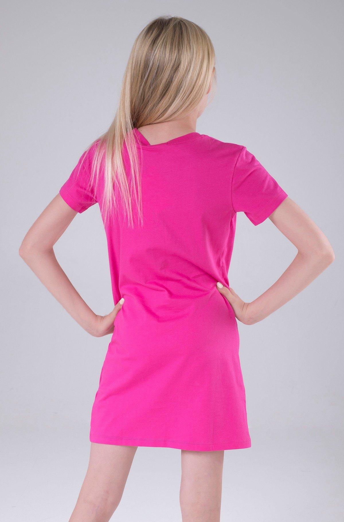 Kreklkleita CK REPEAT FOIL T-SHIRT DRESS-full-3