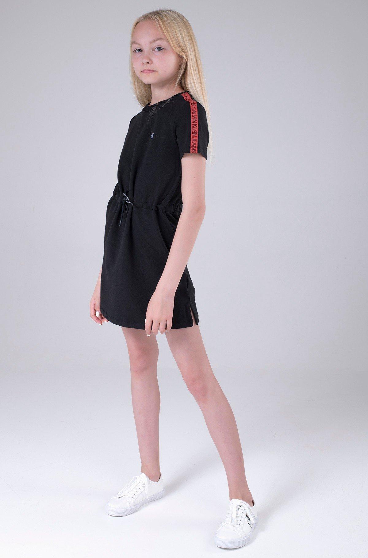 Bērnu kleita LOGO TAPE SLEEVE DRESS-full-1