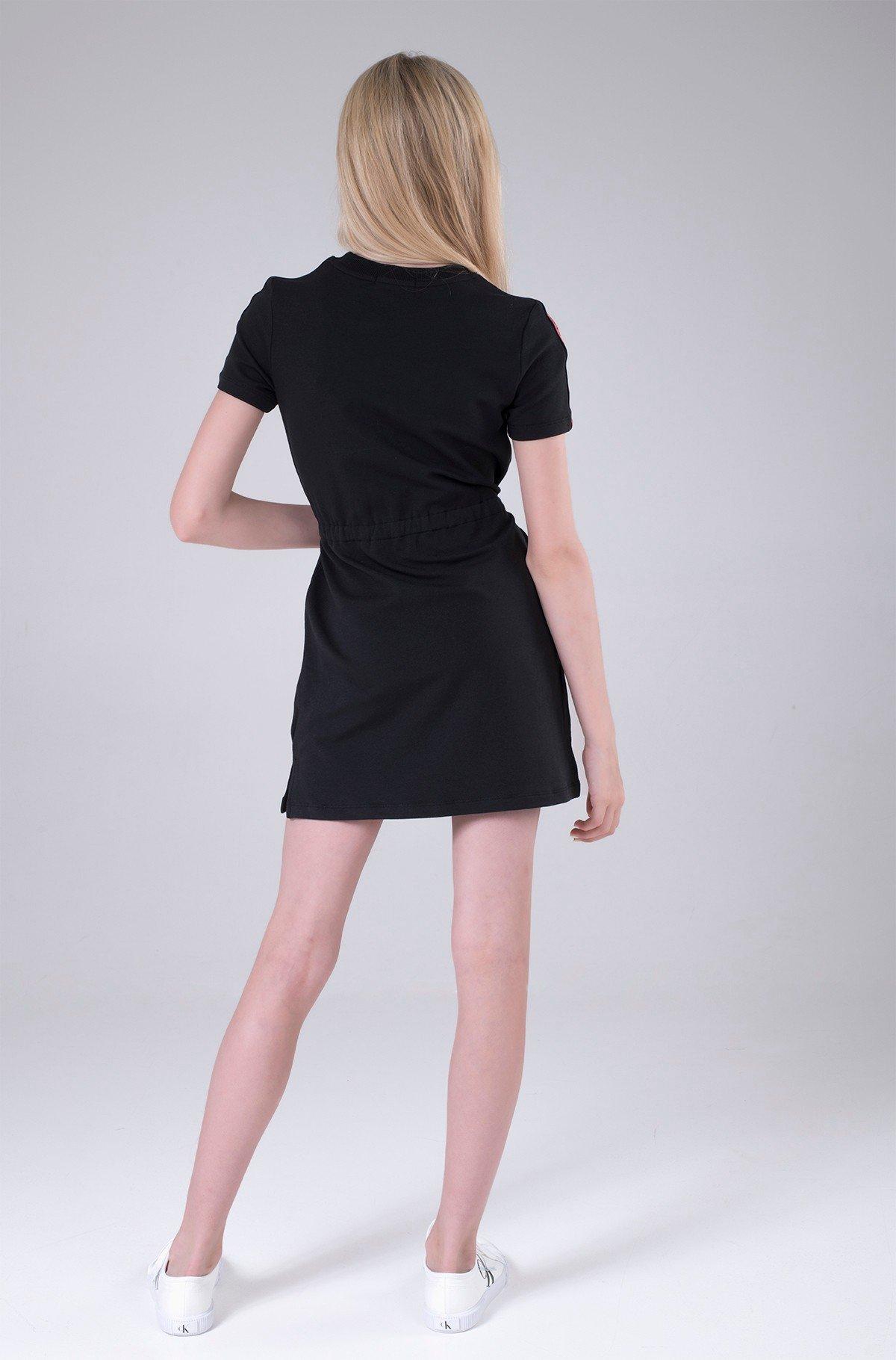 Bērnu kleita LOGO TAPE SLEEVE DRESS-full-2
