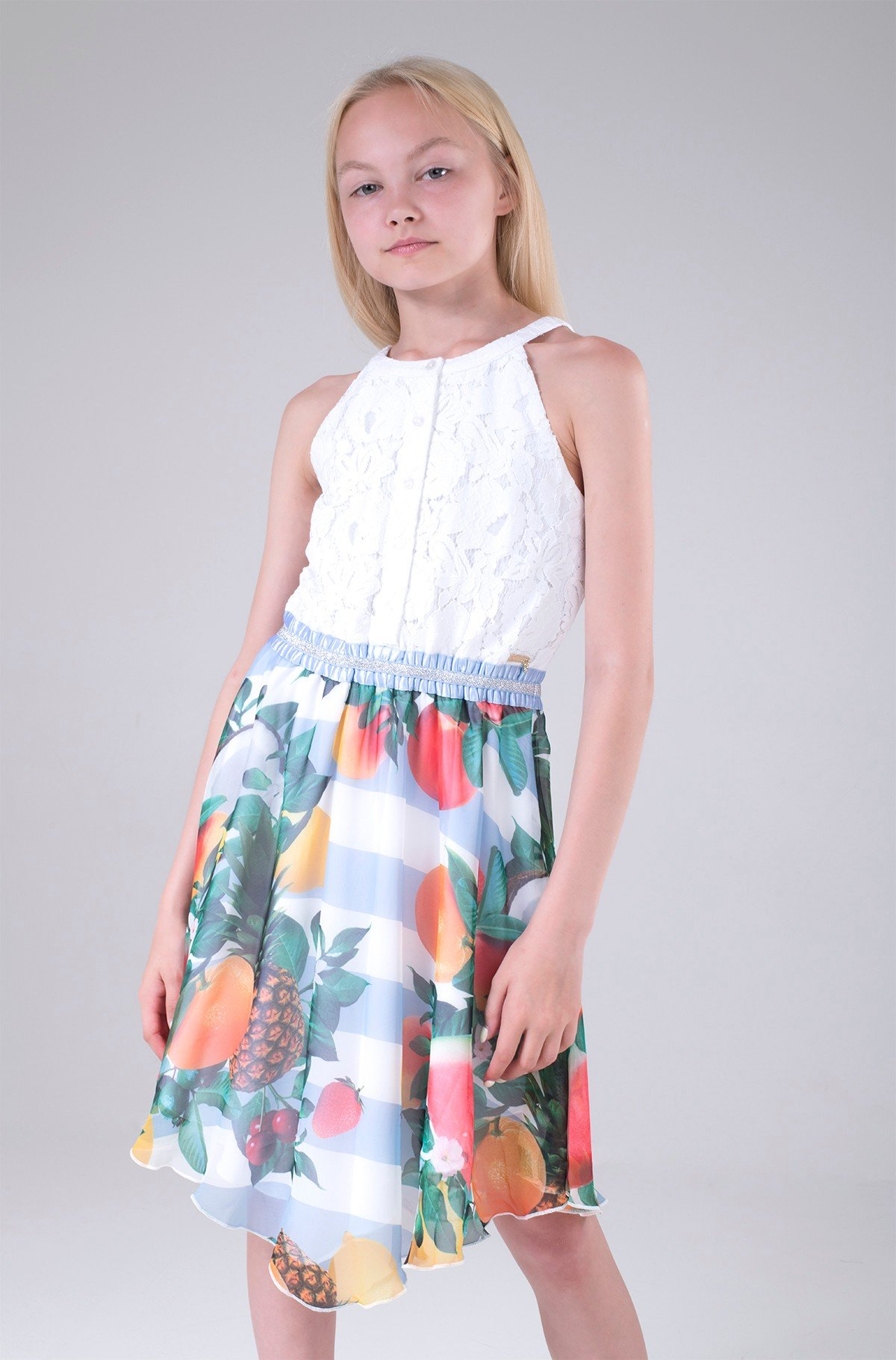 Bērnu kleita J1GK36 WDVV0-full-1