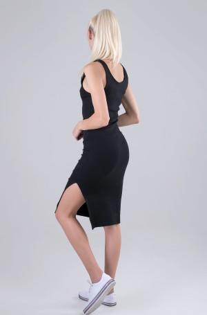Kleit MICRO BRANDING STRAPPY RIB DRESS-2