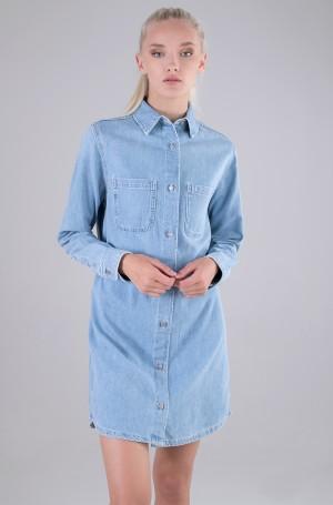 Teksakleit RELAXED SHIRT DRESS-1