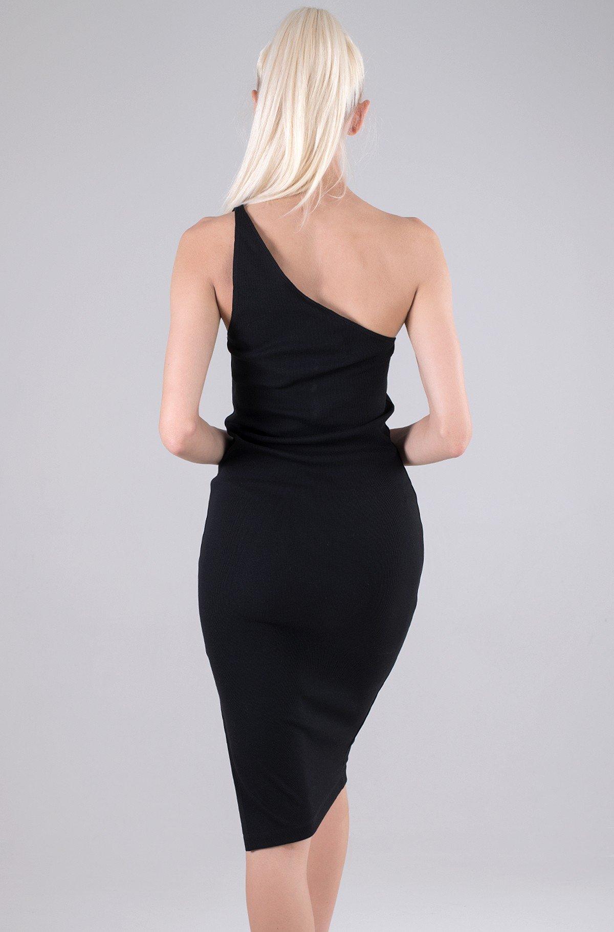 Kleit PRIDE ASYMMETRICAL RIB DRESS-full-3
