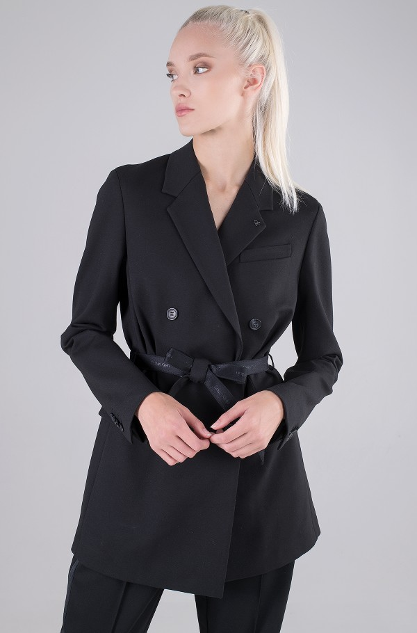 RECYCLED MILANO BELTED BLAZER