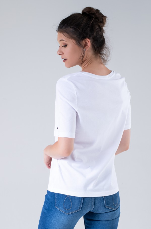 REGULAR BOX TOWER OPEN-NK TEE SS-hover