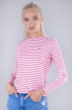 Long sleeved shirt TJW SLIM TEXTURED STRIPE TEE LS-1