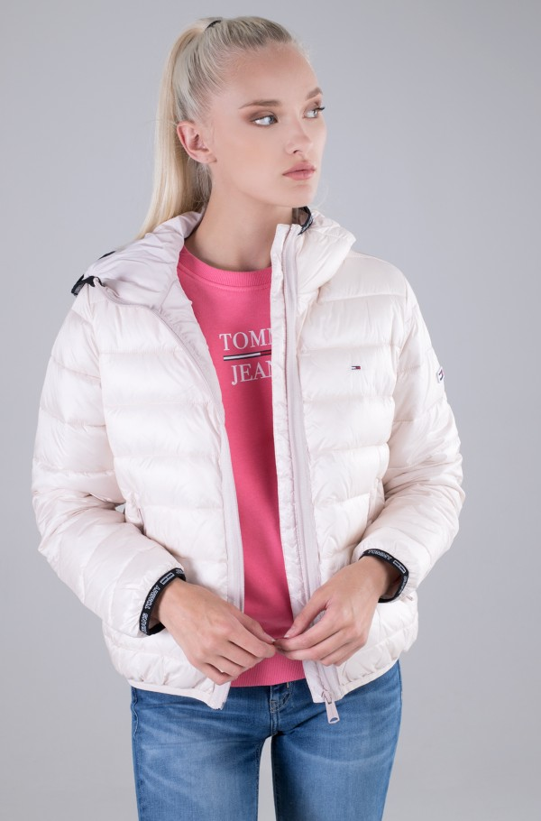 TJW QUILTED TAPE HOODED JACKET