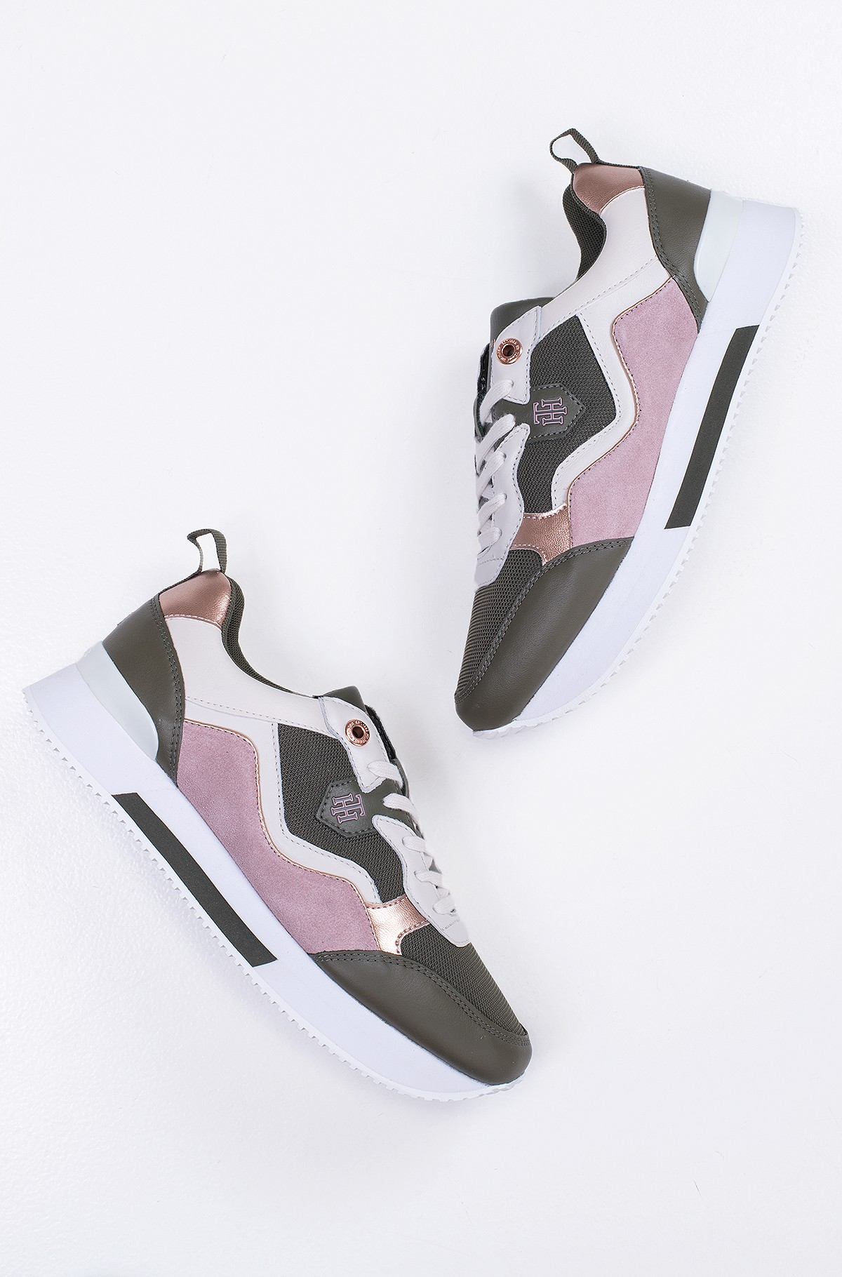 Casual shoes  MATERIAL MIX ACTIVE CITY SNEAKER-full-1
