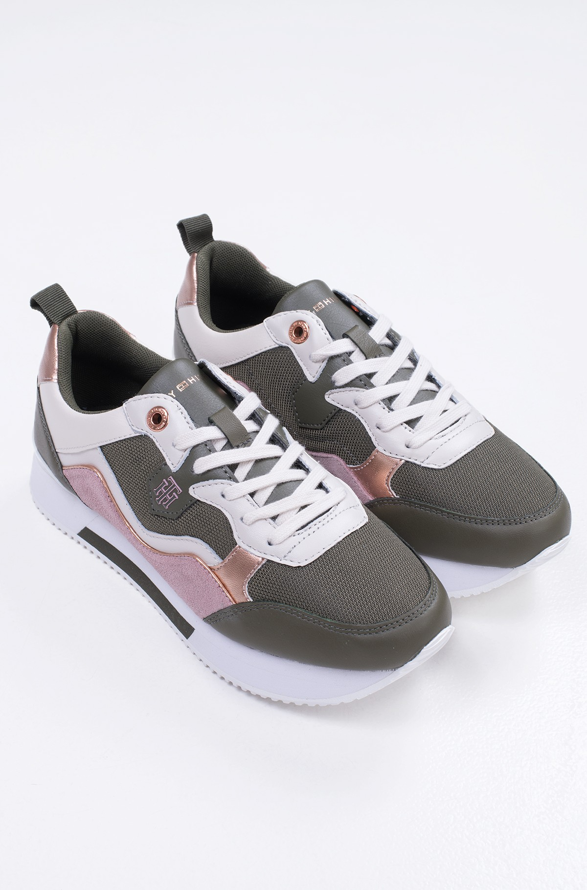 Casual shoes  MATERIAL MIX ACTIVE CITY SNEAKER-full-2