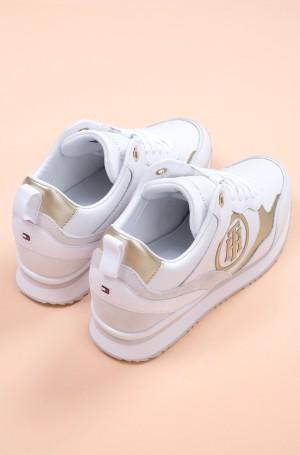 Casual shoes METALLIC DRESSY WEDGE SNEAKER-3