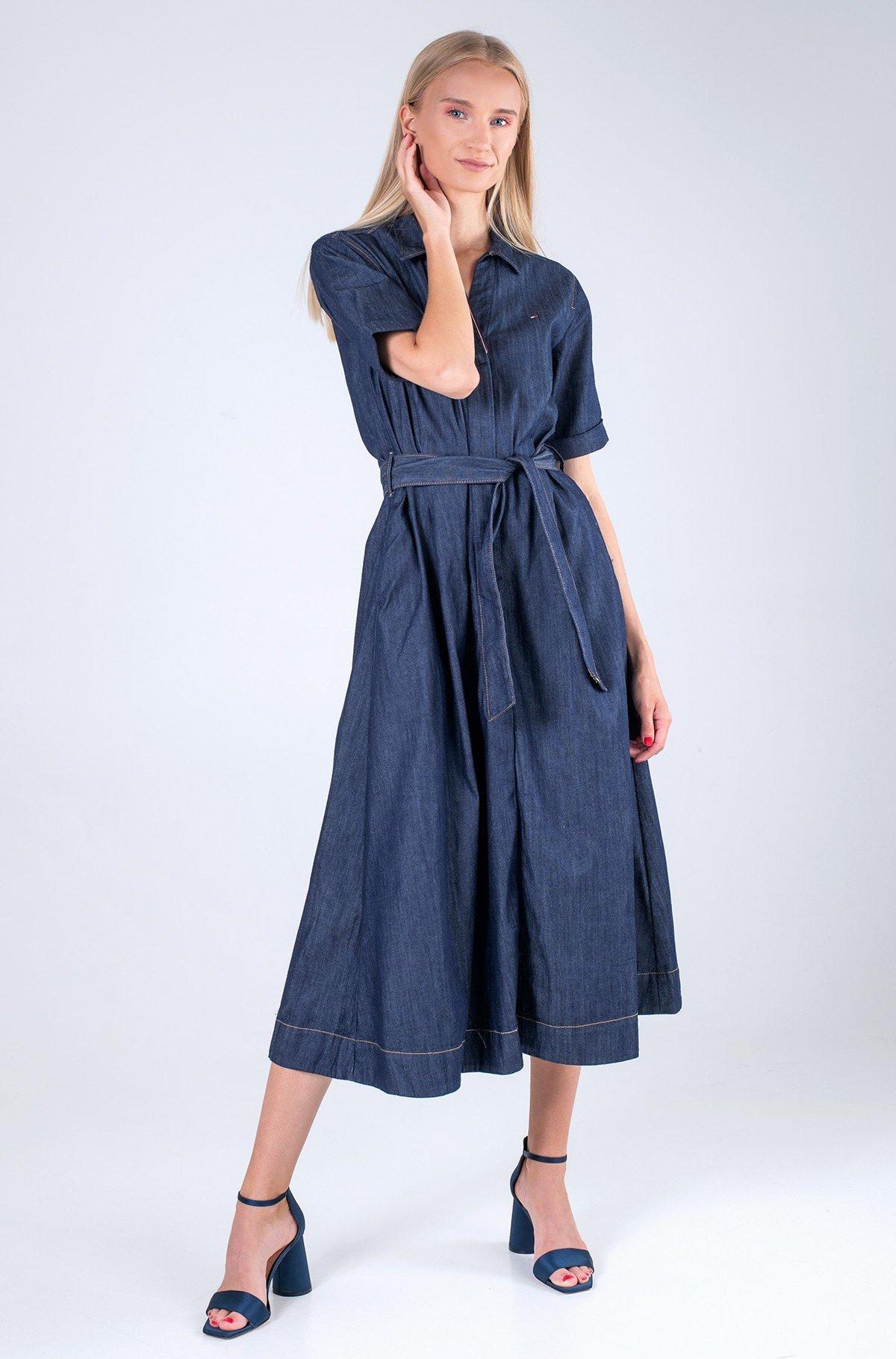 Džinsinė suknelė  DENIM F&F LONG DRESS CHRISSY SS-full-1