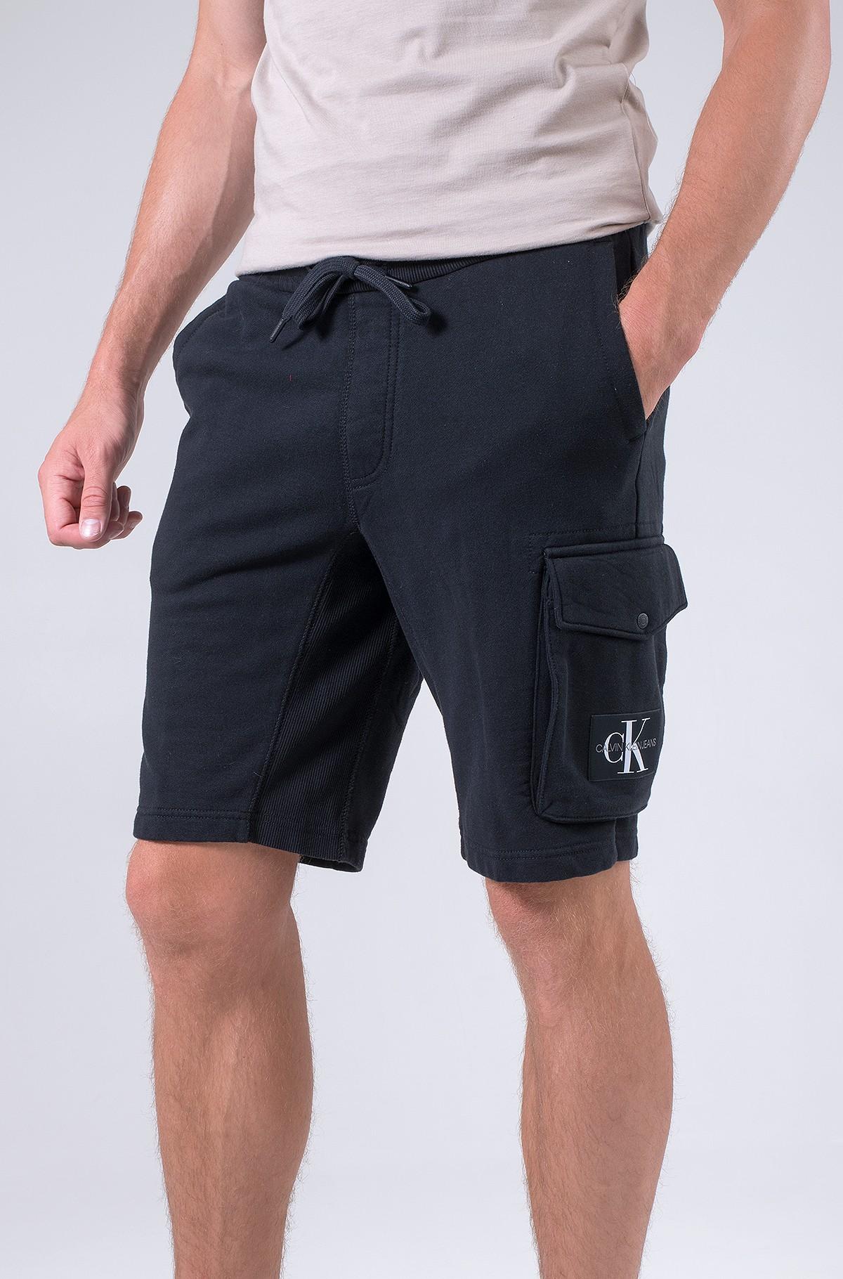 Shorts MONOGRAM BADGE HWK SHORT-full-1