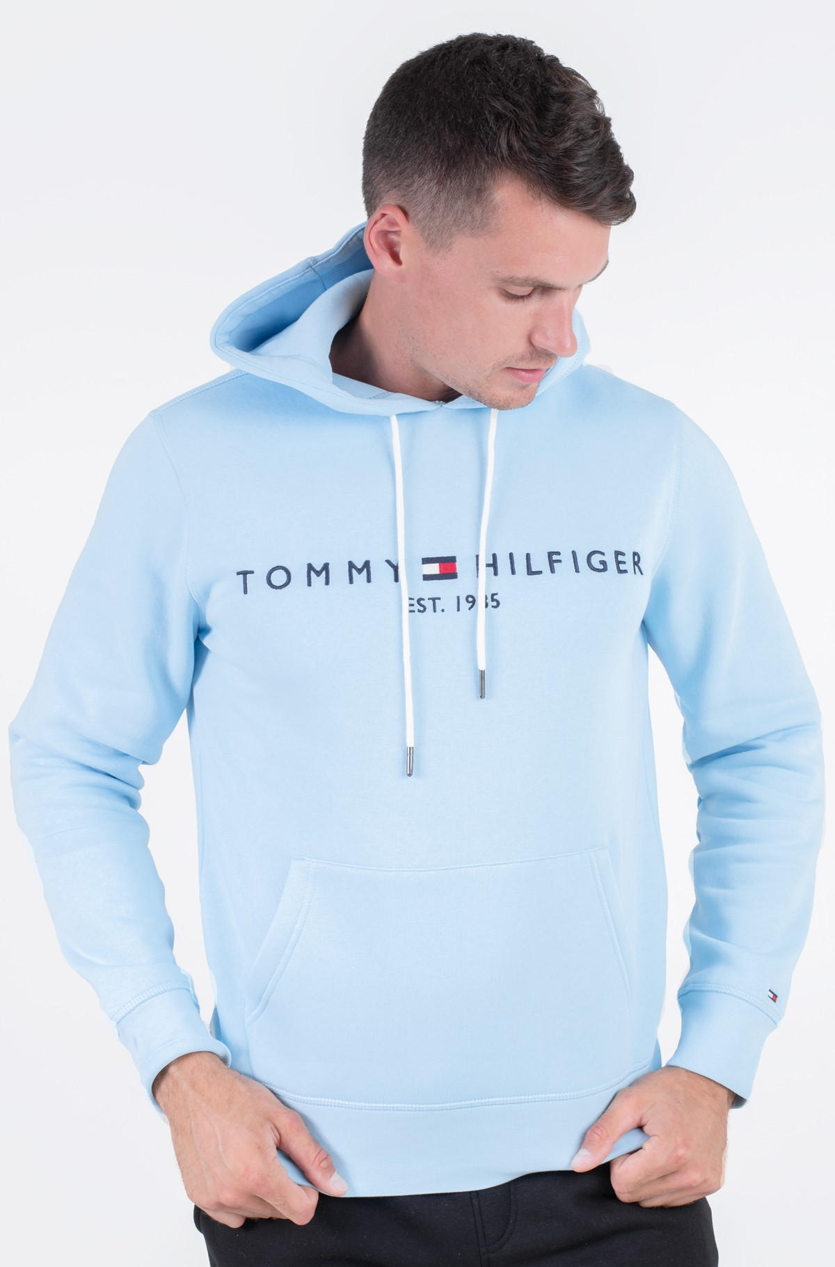 Sporta džemperis TOMMY LOGO HOODY-full-1