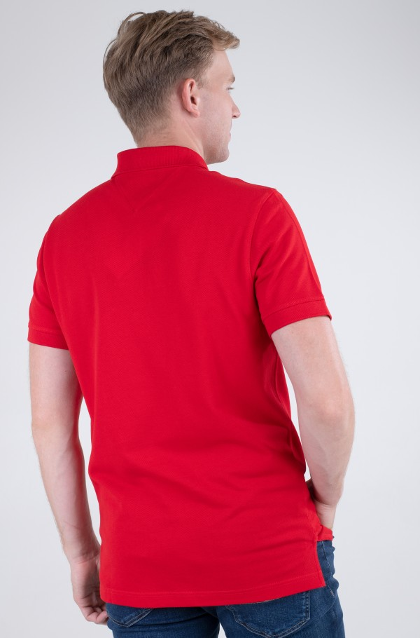 TJM TOMMY BADGE LIGHTWEIGHT POLO-hover