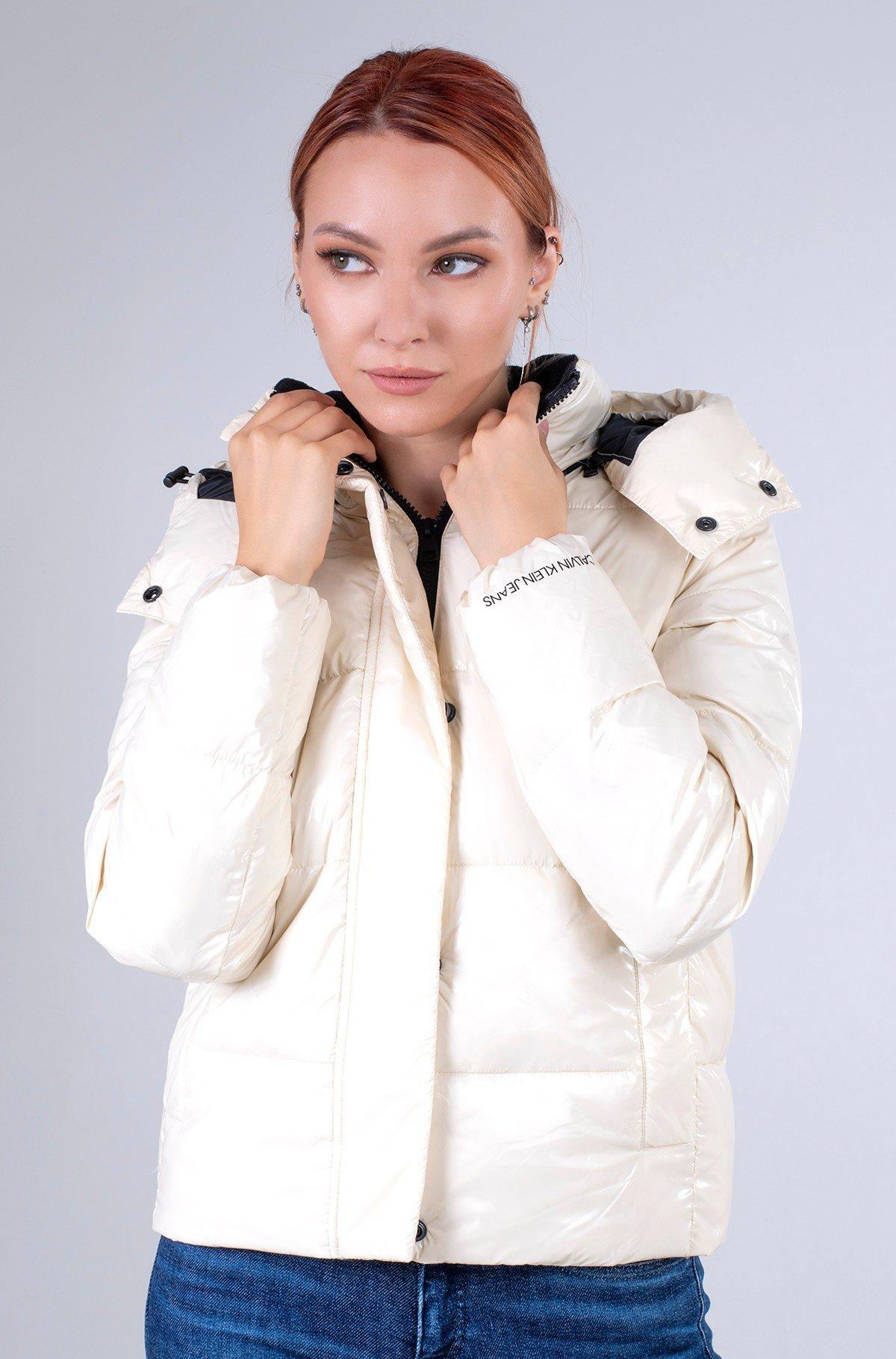Jacket MW HIGH SHINE SHORT PUFFER-full-1