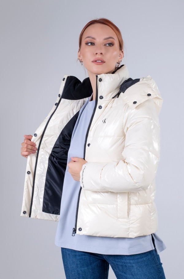 MW HIGH SHINE SHORT PUFFER-hover