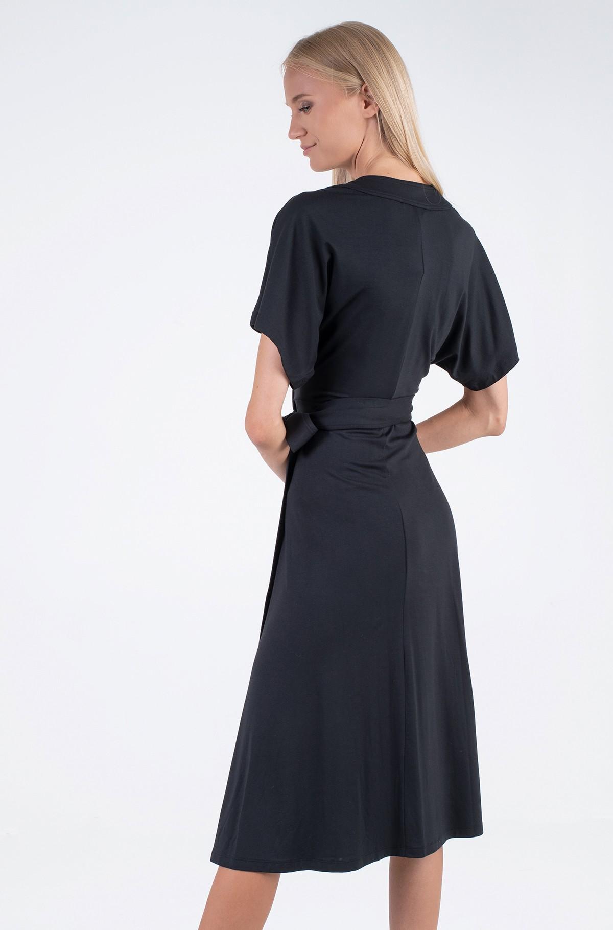 Dress REGULAR MIDI WRAP DRESS SS-full-2