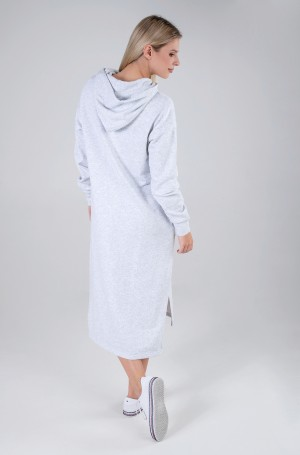 Džemperkleita TJW LONGLINE HOODIE BADGE DRESS-2