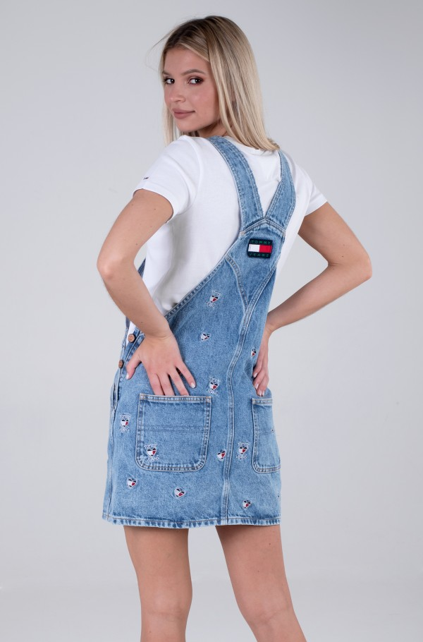 CLASS DUNGAREE DRESS AE710 SCLBR-hover