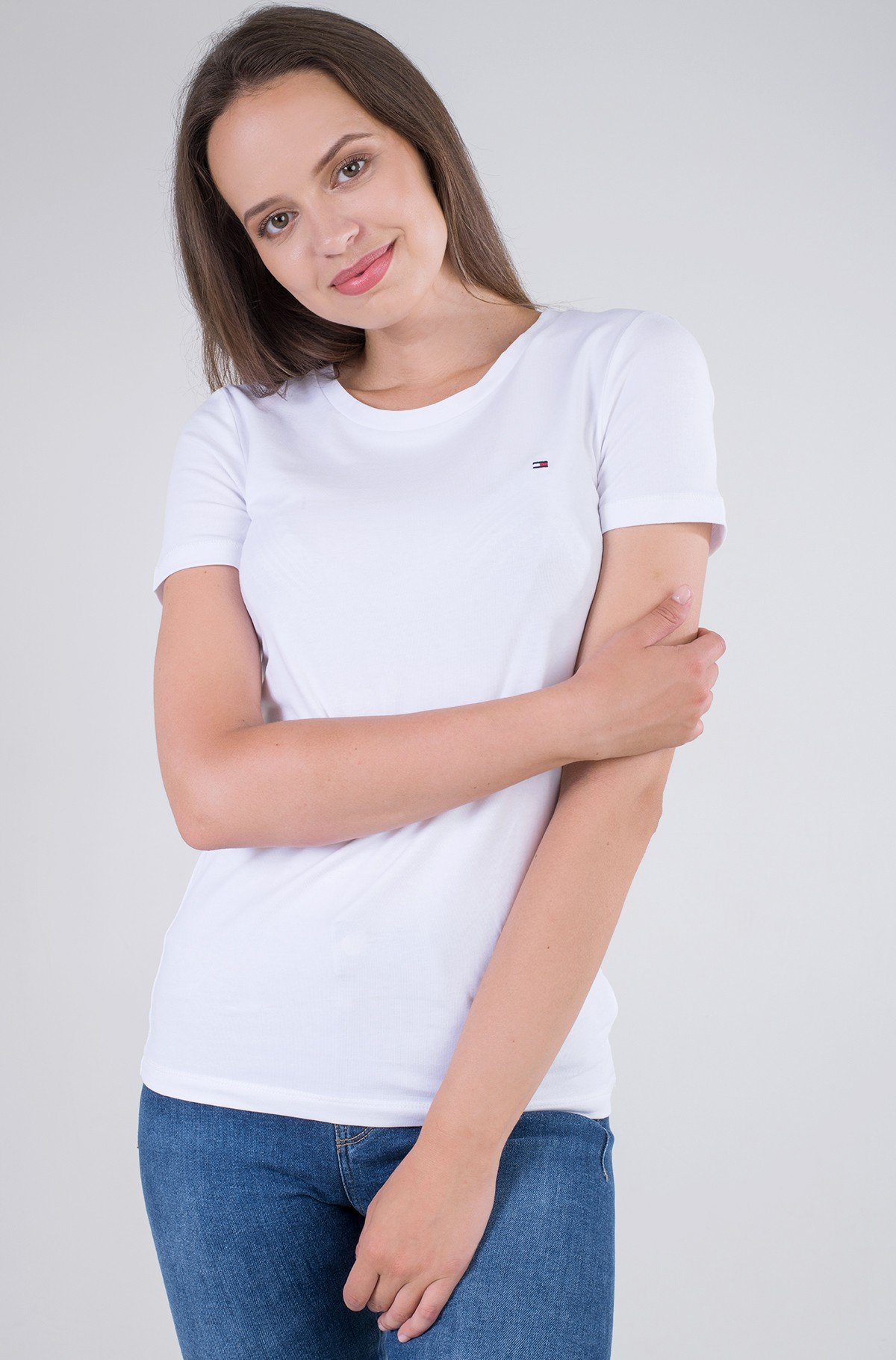 T-shirt TH COOL SOLID ROUND-NK TOP SS-full-1
