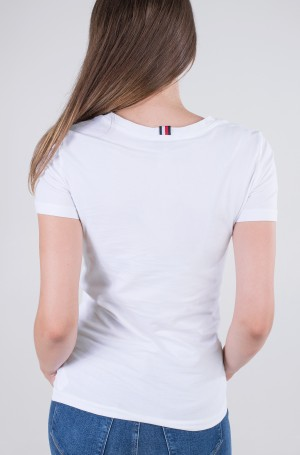 T-shirt TH COOL SOLID ROUND-NK TOP SS-2