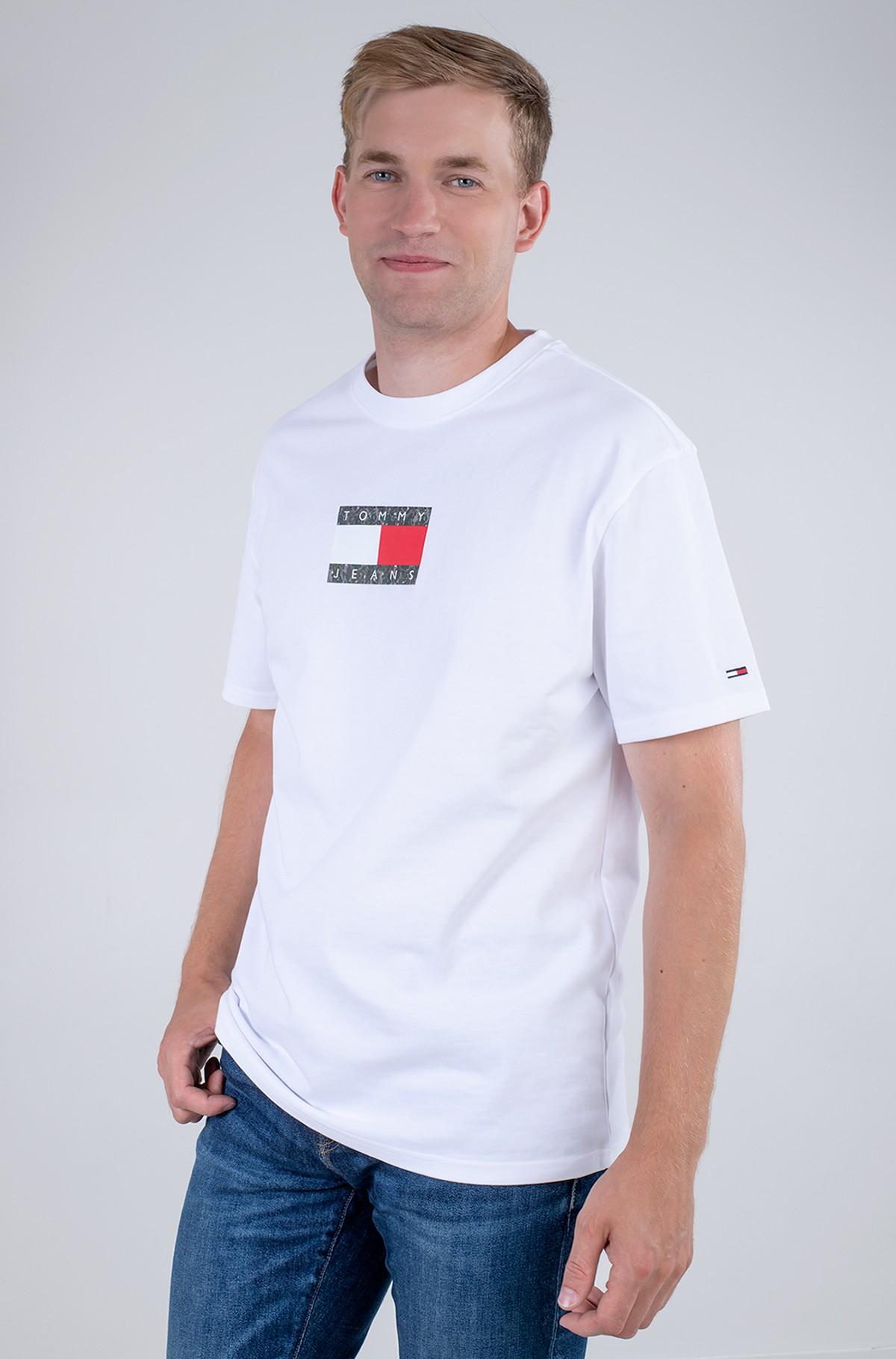 T-krekls TJM CAMO FLAG SCRIPT TEE-full-1