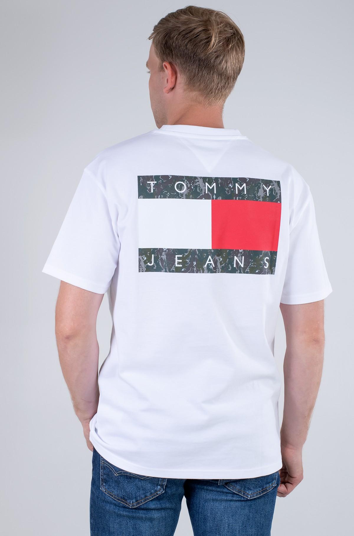 T-krekls TJM CAMO FLAG SCRIPT TEE-full-2