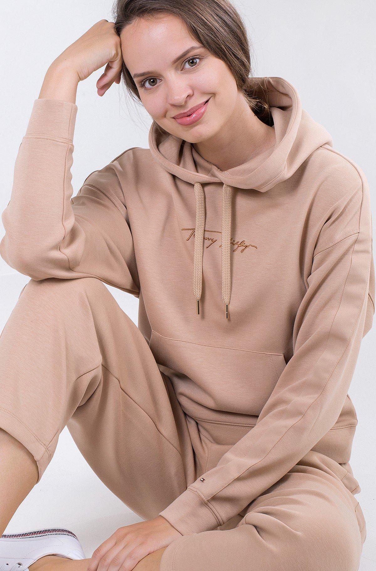 Sporta džemperis RELAXED GROSSGRAIN HOODIE-full-1
