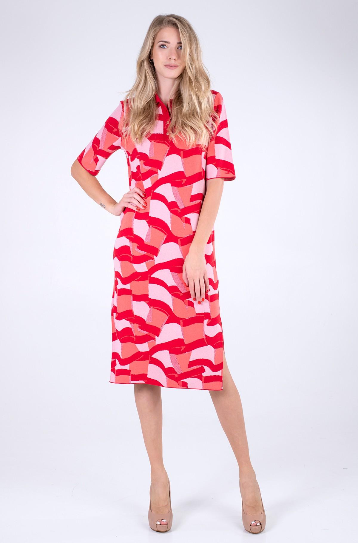 Midi dress ICON POLO MIDI DRESS SS-full-1