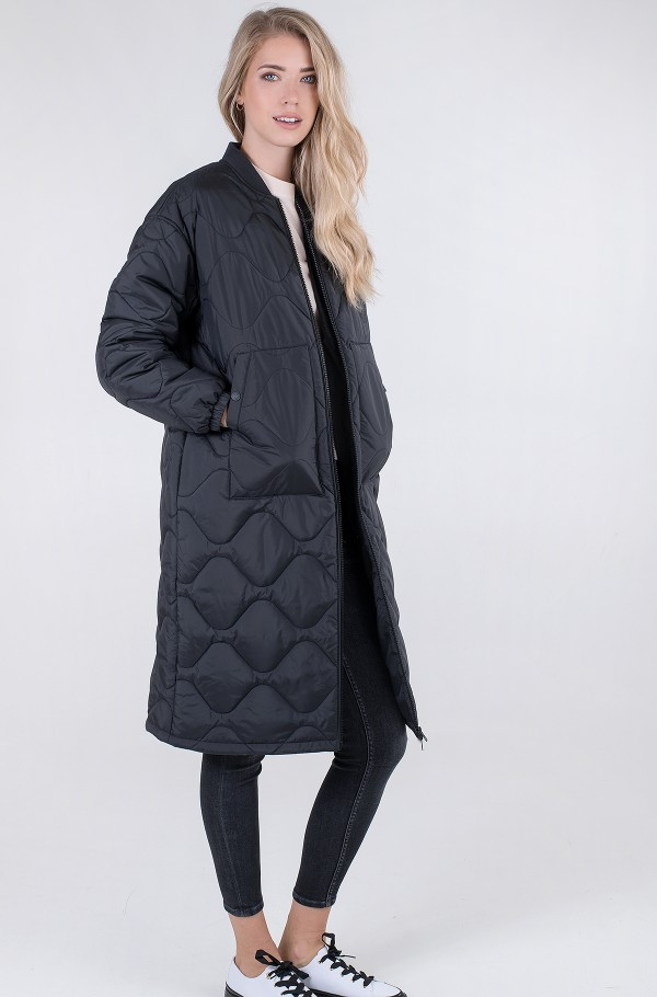 TJW QUILTED BOMBER COAT