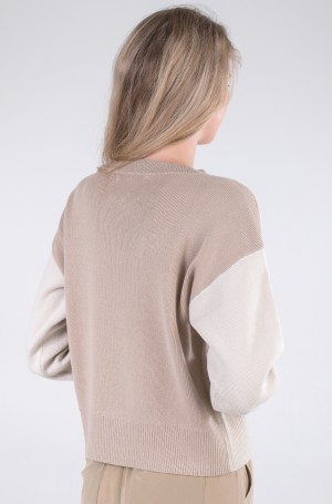 Knitwear ICON ORG COTTON FLAG SWEATER-3