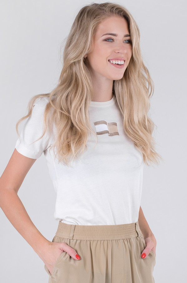 ICON SLIM OPEN-NK TOP SS