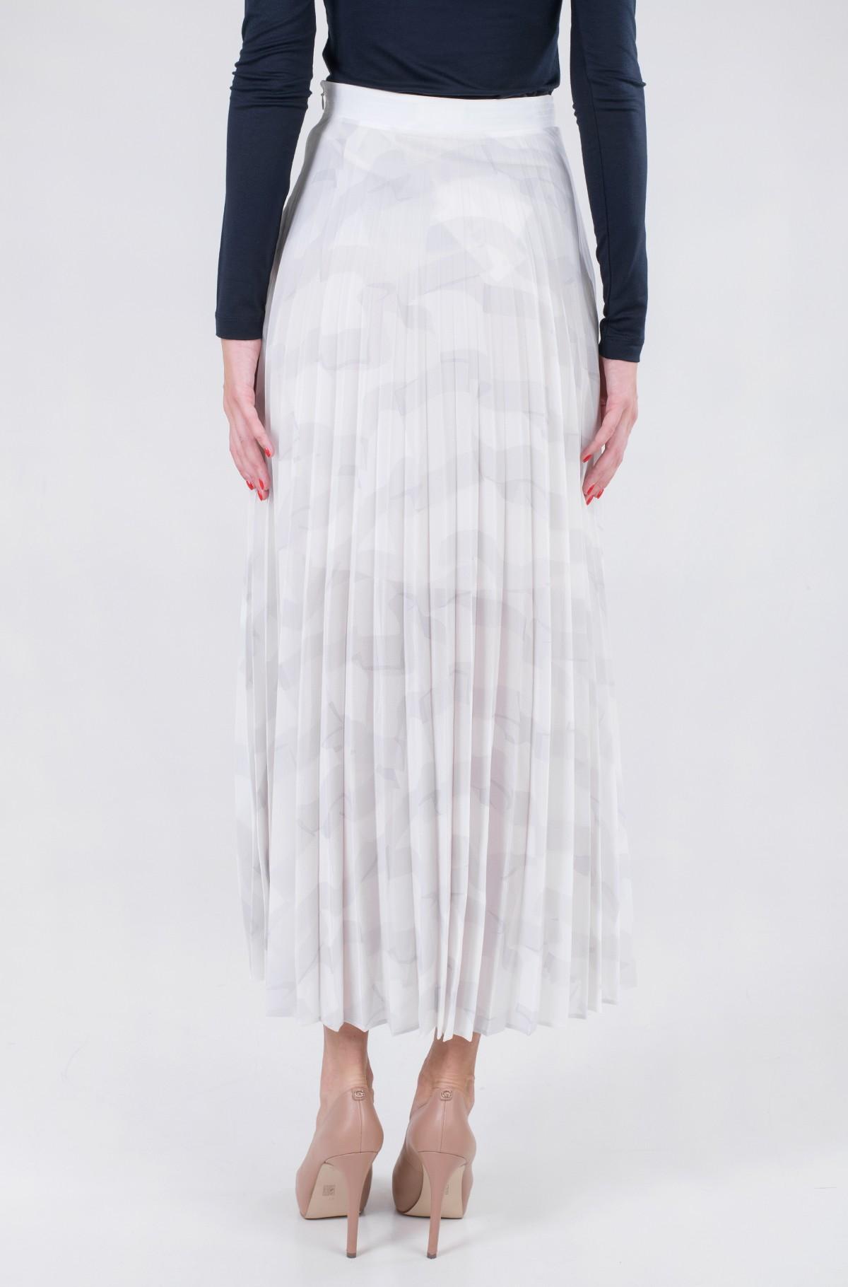 Skirt ICON CHIFFON PLEATED LONG SKIRT-full-2