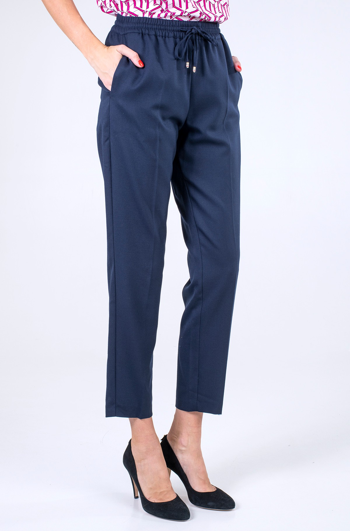 Trousers FLANNEL PULL ON STRAIGHT PANT-full-1