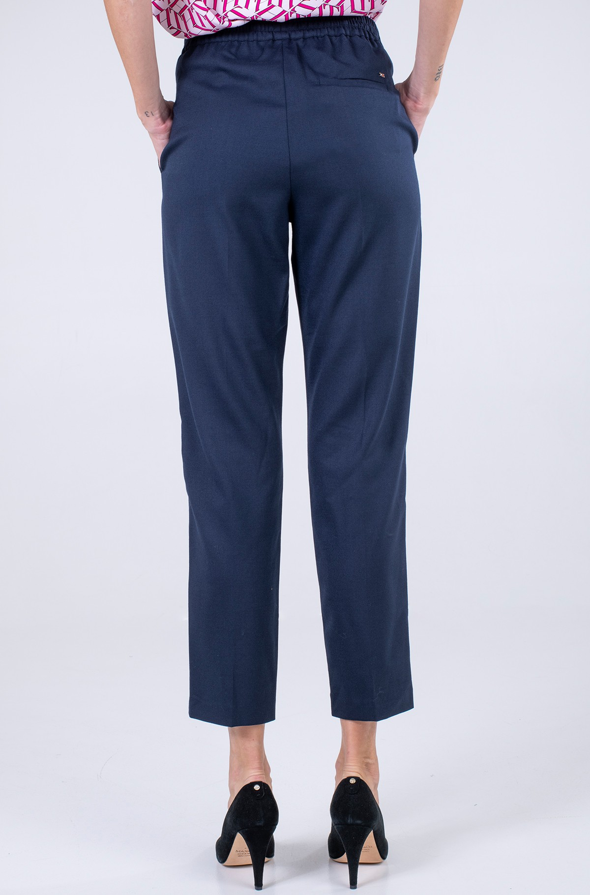Trousers FLANNEL PULL ON STRAIGHT PANT-full-2