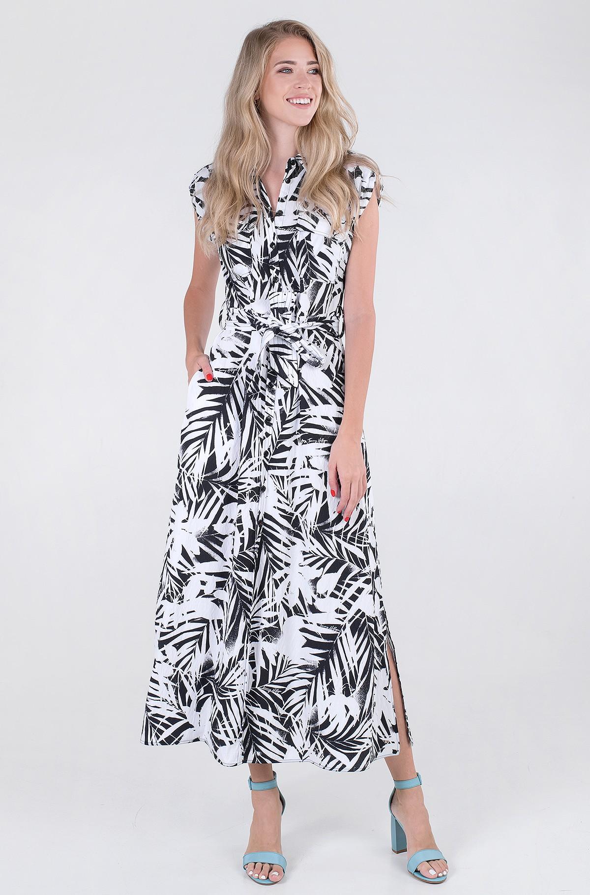 Kleit VIS TWILL LONG SHIRT DRESS NS-full-1
