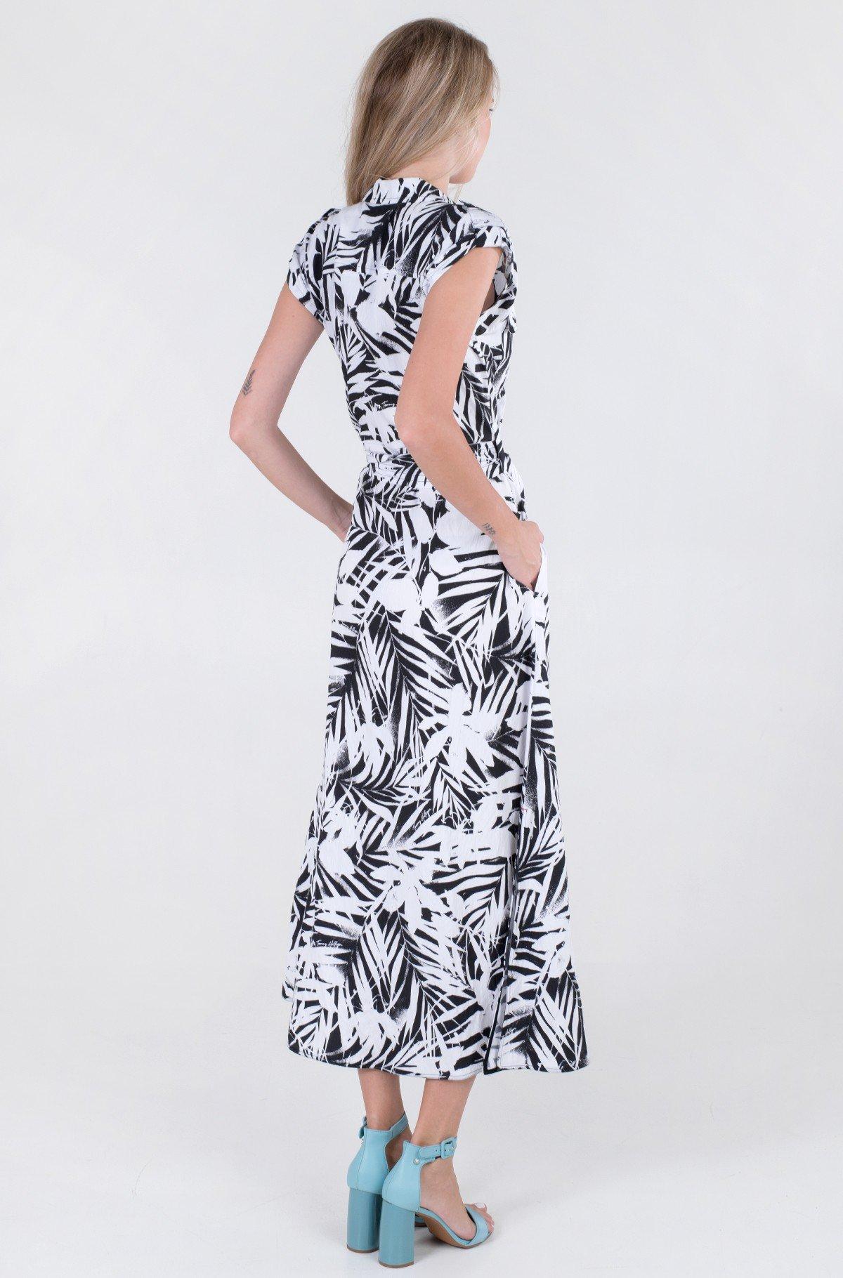 Kleit VIS TWILL LONG SHIRT DRESS NS-full-2