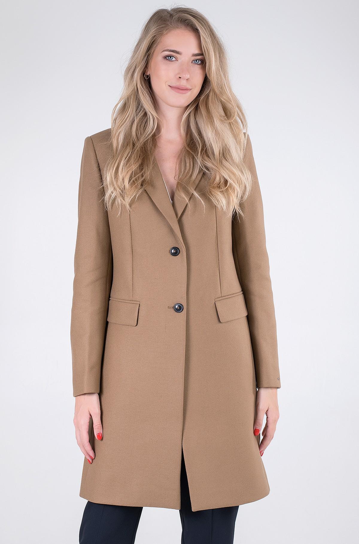 Mantel TH ESS WOOL BLEND CLASSIC COAT-full-1