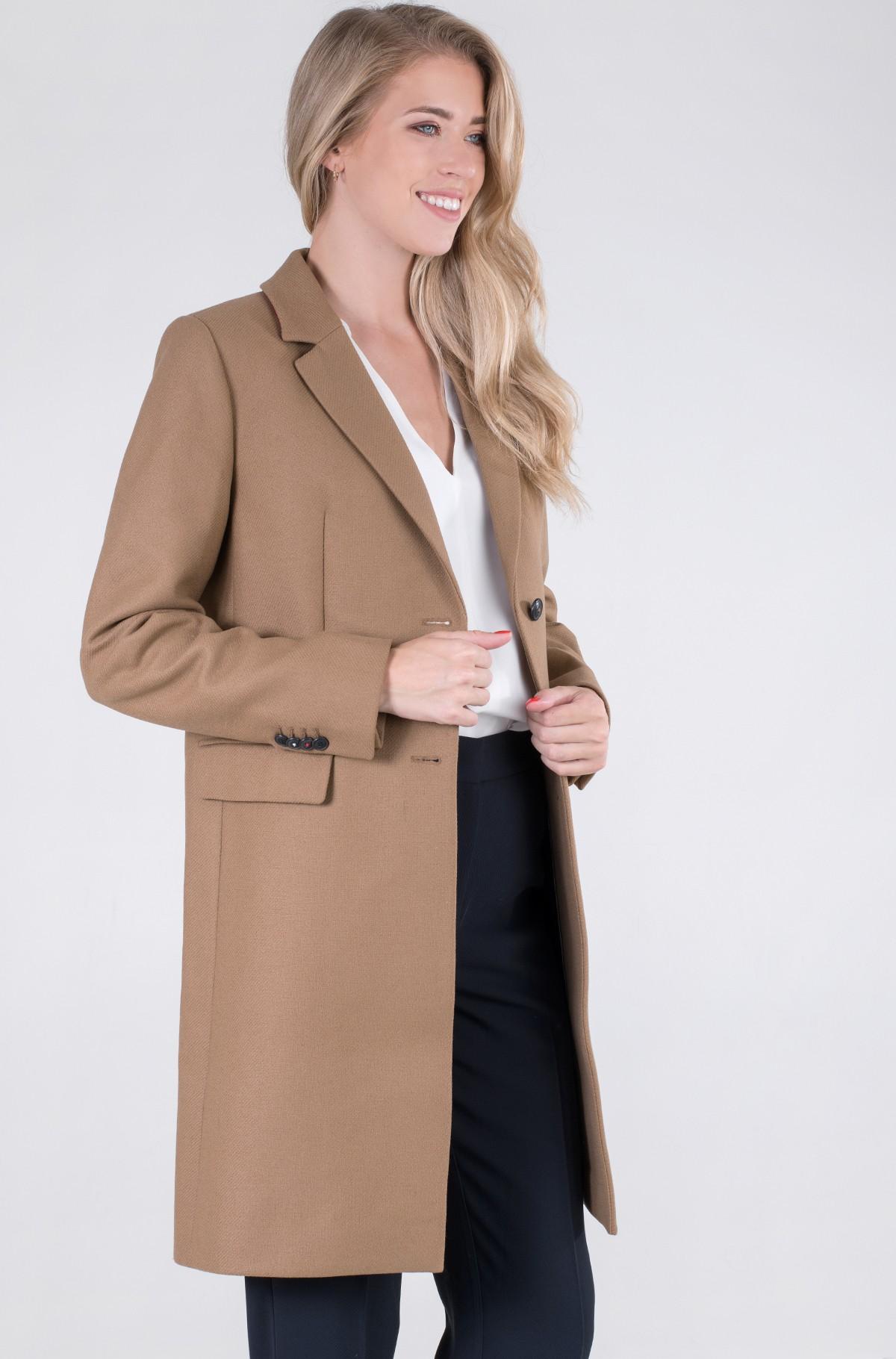 Mantel TH ESS WOOL BLEND CLASSIC COAT-full-2