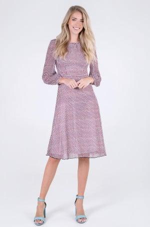 Kleit GEO FIT & FLARE KNEE DRESS LS-1