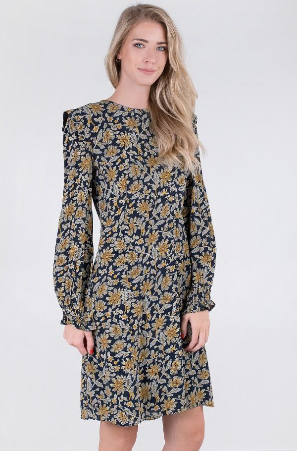 CREPE KNEE F&F DRESS LS