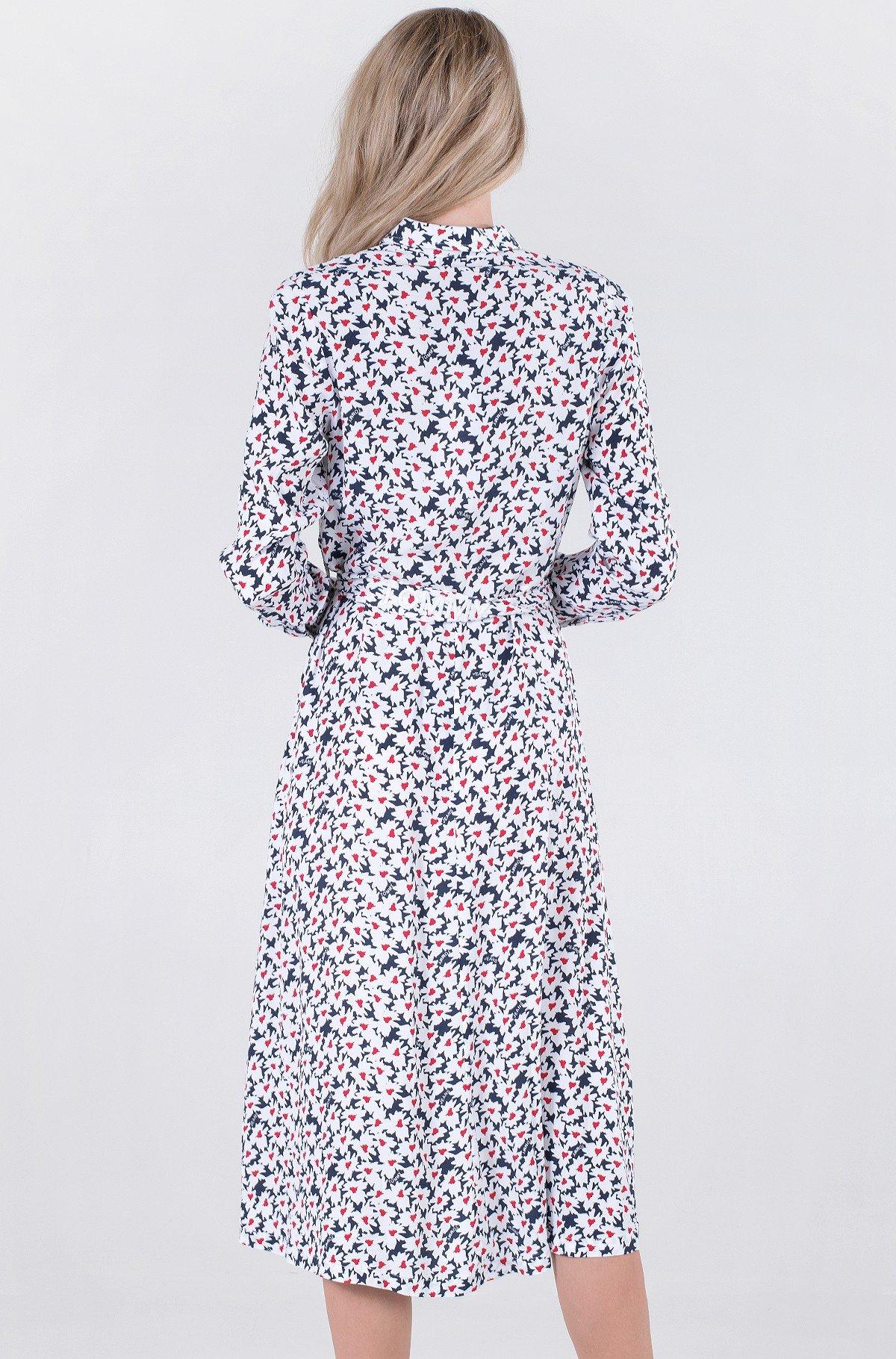 Kleit TJW PRINTED MIDI SHIRT DRESS-full-2